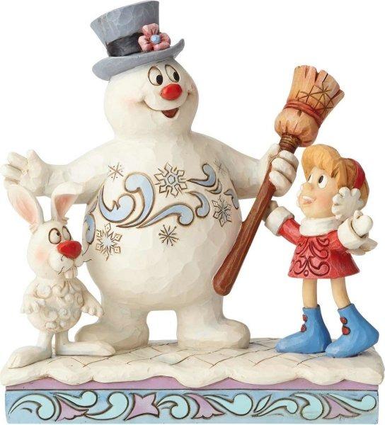 Jim Shore Frosty 6001581 Frosty Karen and Hocus Pocus