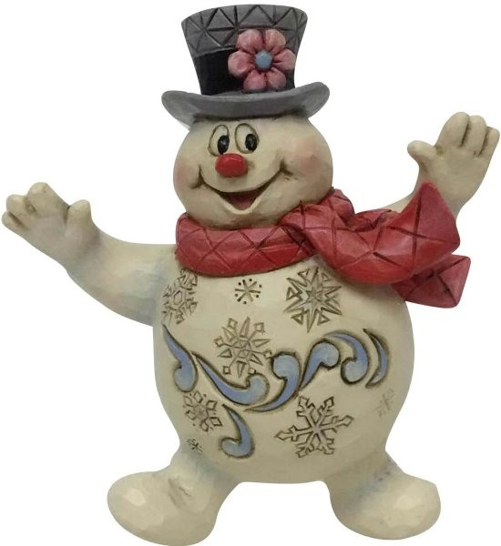 Jim Shore Frosty 6001585 Jolly Frosty Ornament