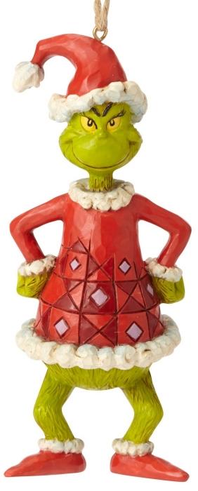 Jim Shore Dr Seuss 6002074 Grinch as Santa