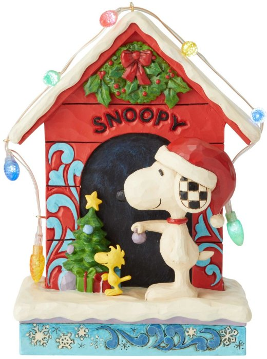 Jim Shore Peanuts 6002771 Snoopy Dog House