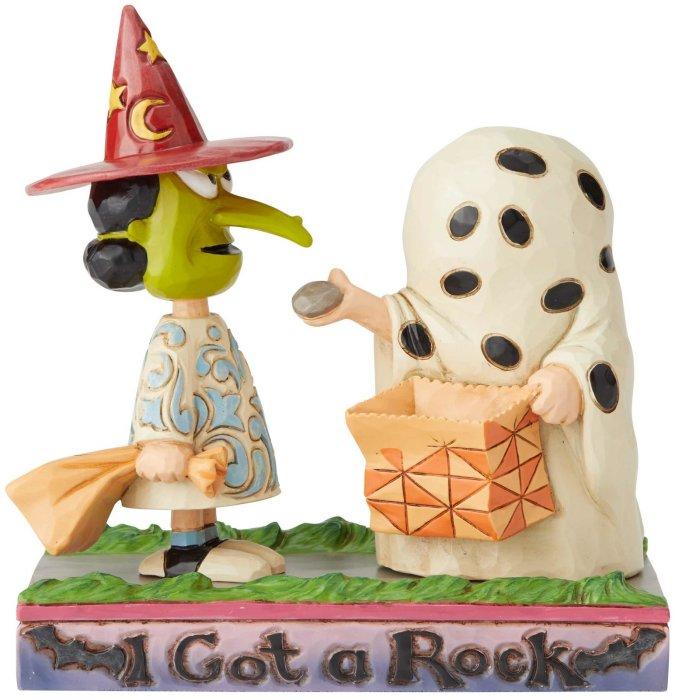 Jim Shore Peanuts 6002775 I Got a Rock