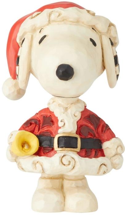 Jim Shore Peanuts 6002778 Mini Snoopy Santa
