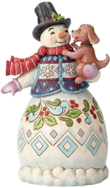 Jim Shore 6002802 3rd Annual Snowman Figurine