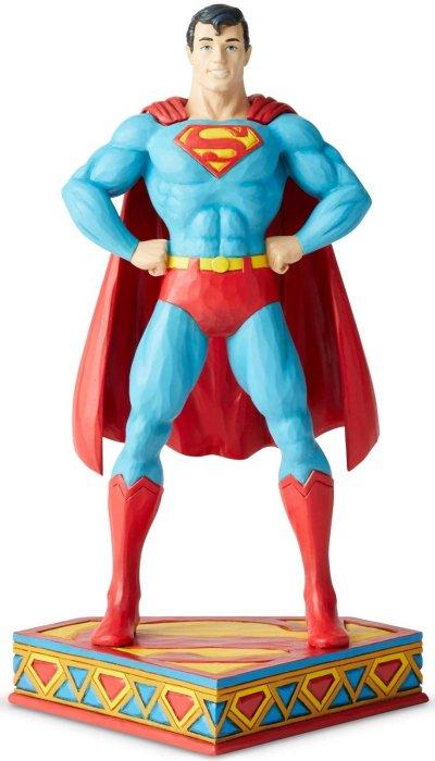 Jim Shore DC Comics 6003021 Superman- Silver Age Figurine
