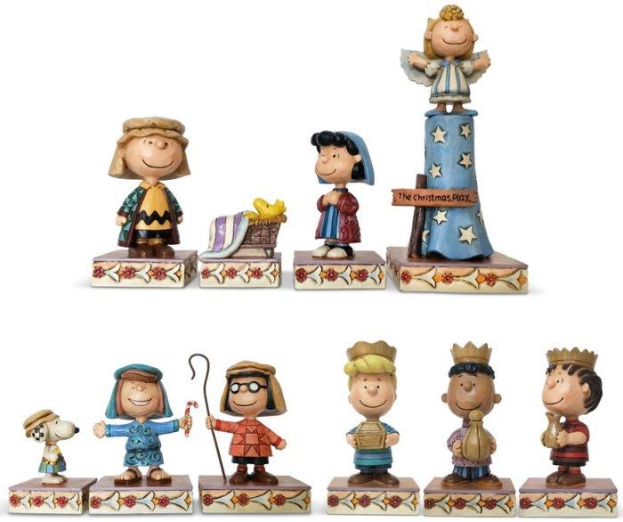 Jim Shore Peanuts 6003336N Mini Nativity Scene Full