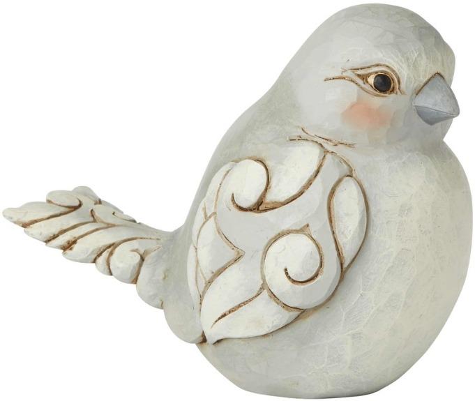 Jim Shore 6003630 Grey Bird