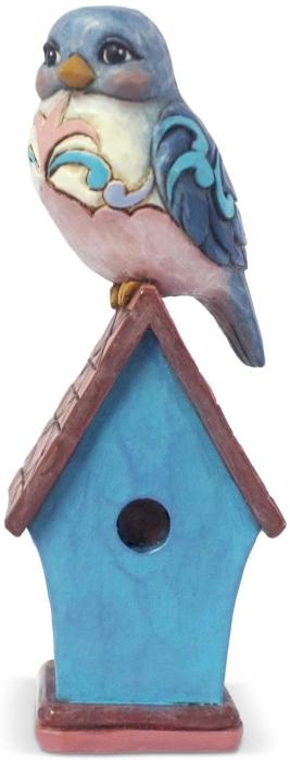 Jim Shore 6003981 Bluebird Mini Figurine