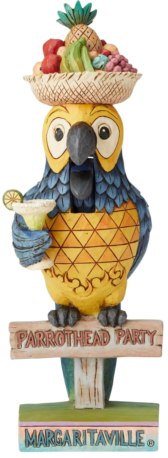 Jim Shore Margaritaville 6004008 Parrot Nutcracker