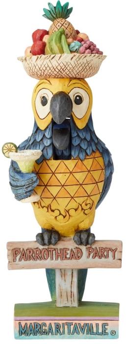 Jim Shore Margaritaville 6004008N Parrot Nutcracker