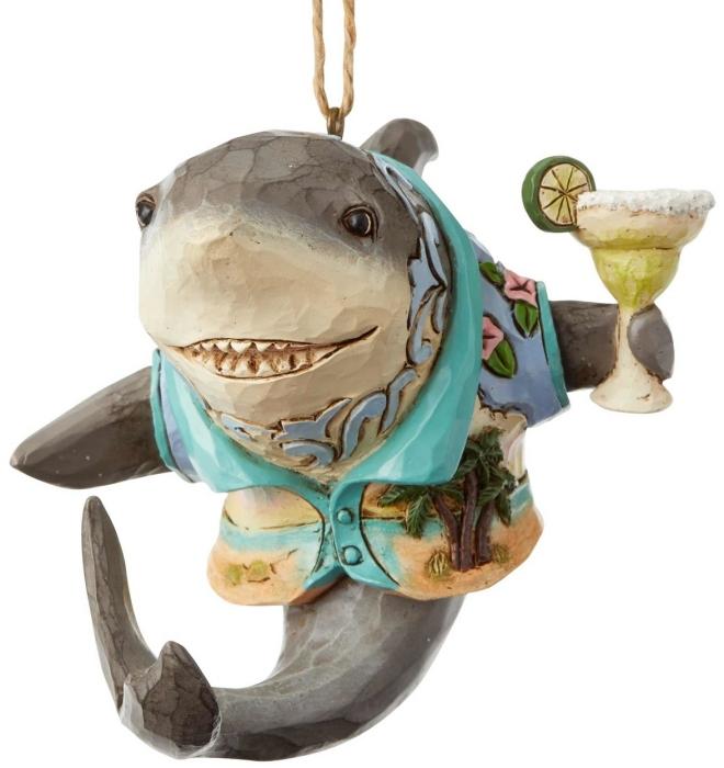 Jim Shore Margaritaville 6004011 Shark With Margarita