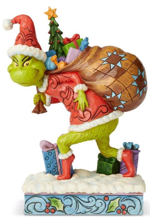 Jim Shore Grinch 6004062 Grinch Tip Toeing Figurine