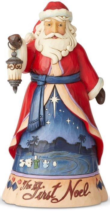 Jim Shore 6004130 First Noel Santa Figurine