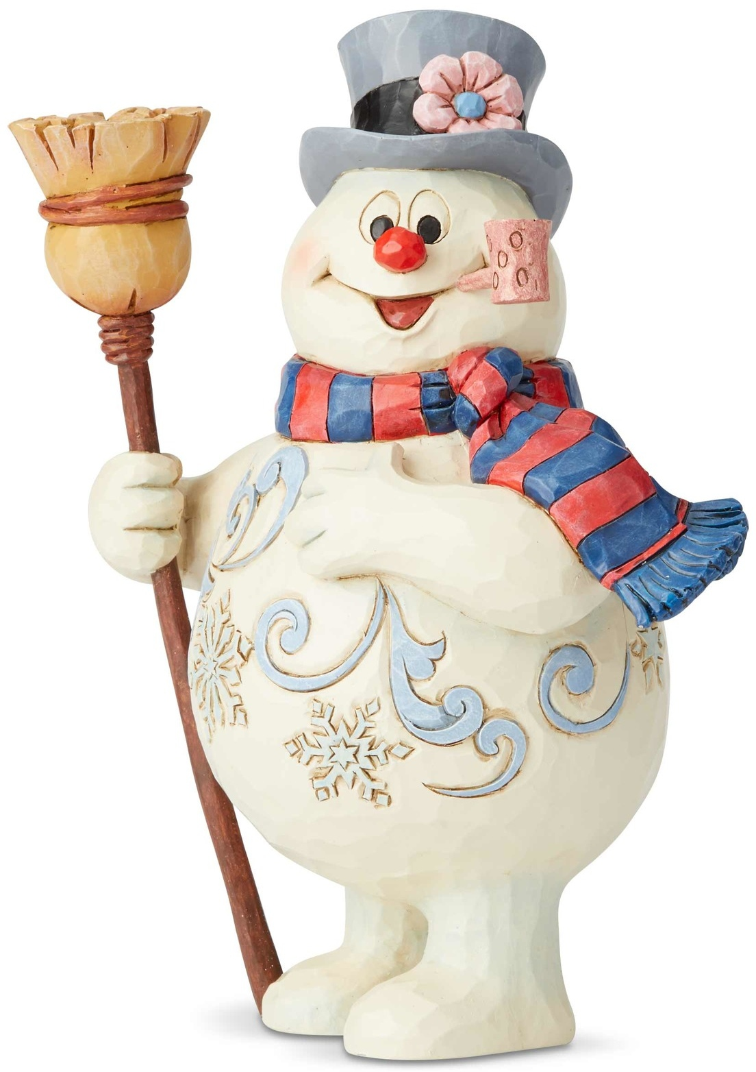 Jim Shore Frosty 6004154 Frosty With Broom