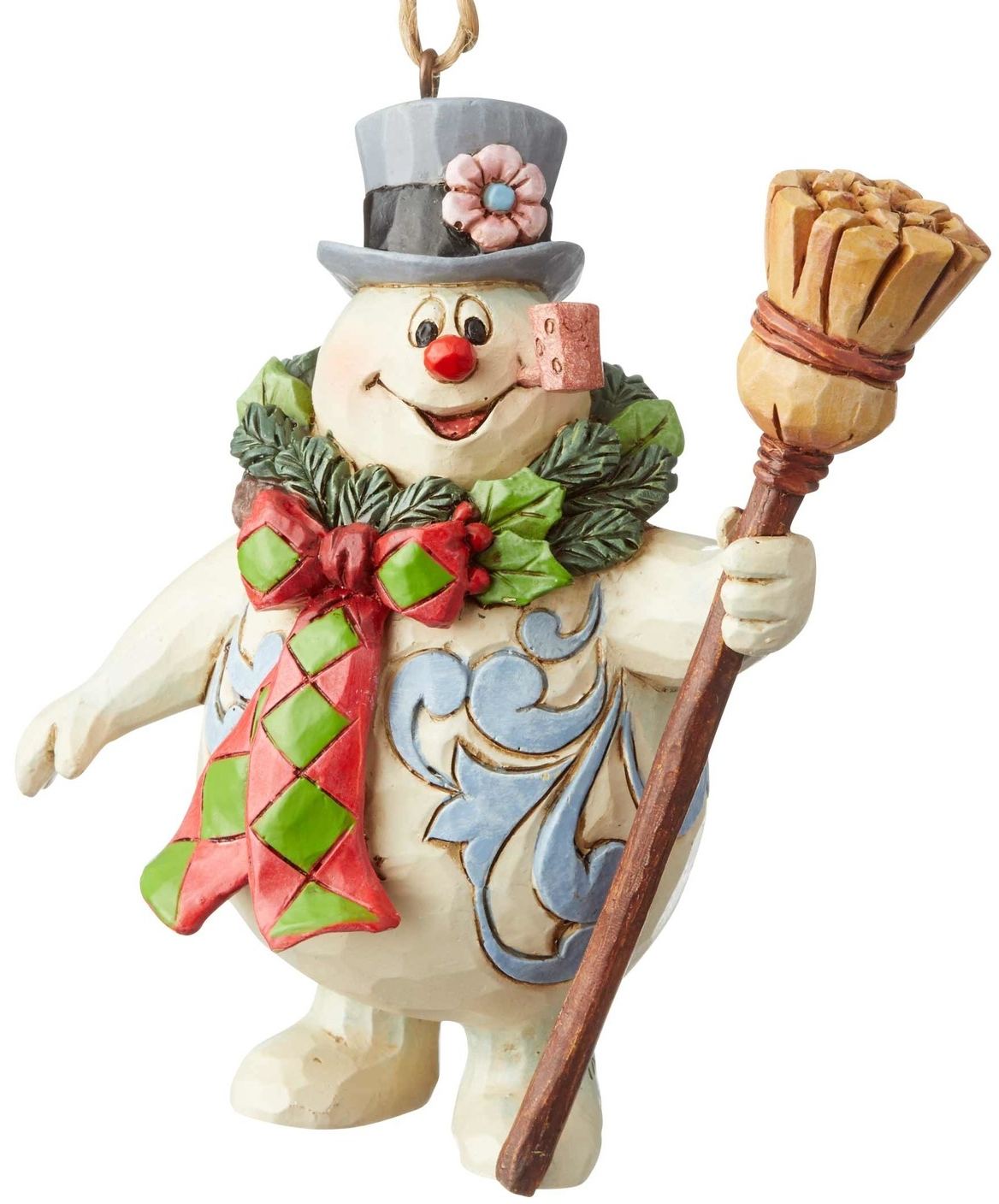 Jim Shore Frosty 6004160 Frosty With Wreath