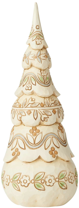 Jim Shore 6004174 White Woodland Tree Figurine