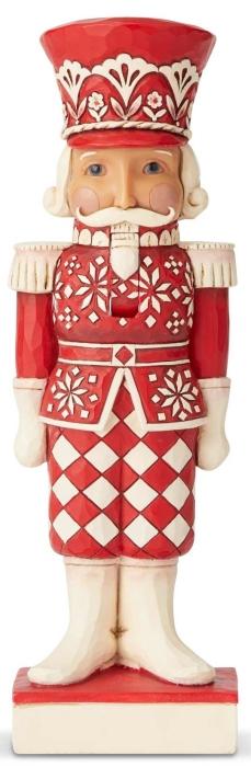 Jim Shore 6004230 Nordic Noel Nutcracker Figurine