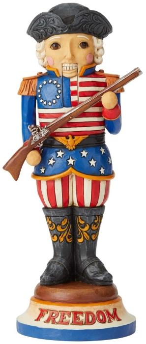 Jim Shore 6004242 American Nutcracker Figurine