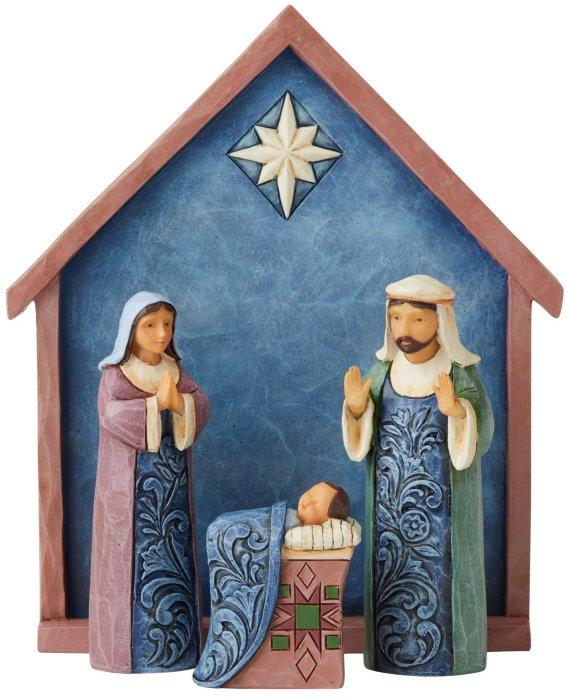 Jim Shore 6004247 Nativity 4 Pc Set Figurines
