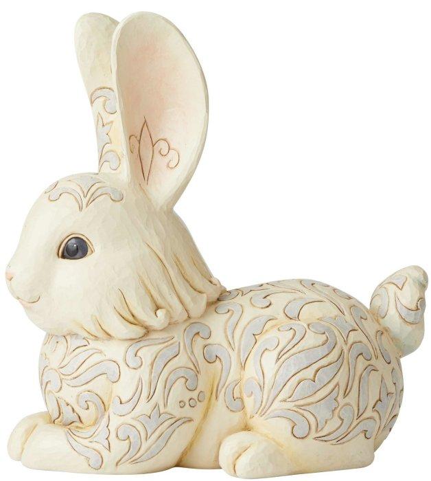 Jim Shore 6004768 Woodland Bunny Statue
