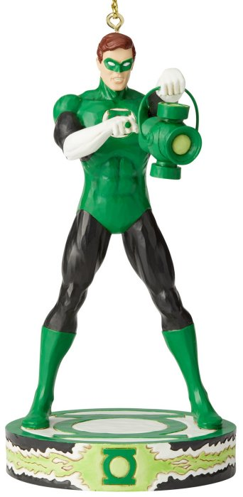 Jim Shore DC Comics 6005074 Green Lantern Silver Age Ornament
