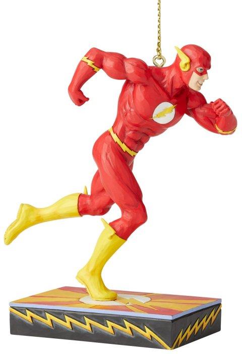 Jim Shore DC Comics 6005075 Flash Silver Age Ornament