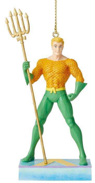 Jim Shore DC Comics 6005076 Aquaman Silver Age Ornament