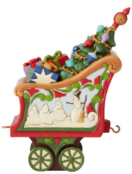 Jim Shore 6005692 Christmas Train Figurine
