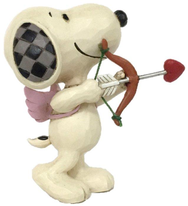 Jim Shore Peanuts 6005950 Mini Snoopy Cupid Figurine