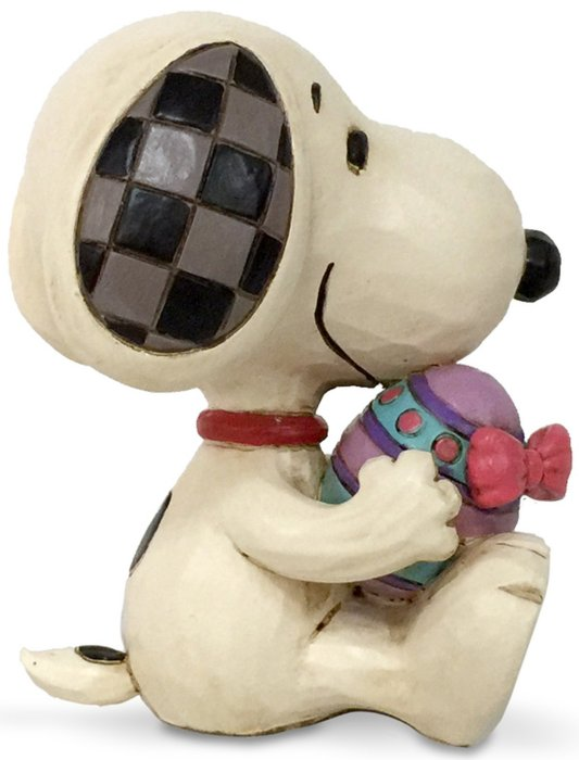 Jim Shore Peanuts 6005952N Mini Snoopy Easter Figurine
