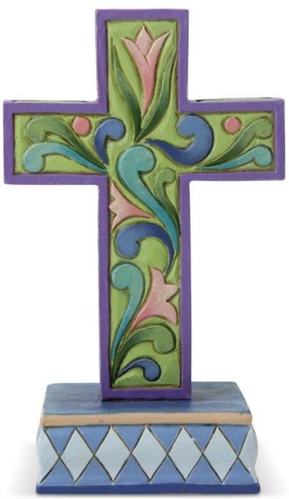 Jim Shore 6006237 Cross Mini Figurine