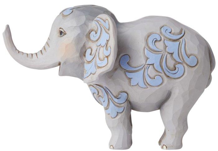 Jim Shore 6006444 Mini Elephant Figurine