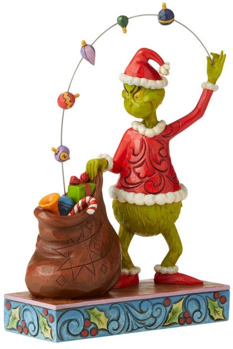 Jim Shore Grinch 6006568 Grinch Juggling Gifts Figurine