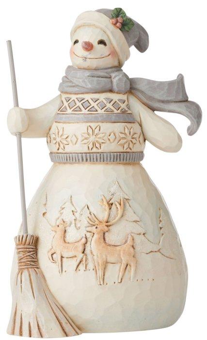 Jim Shore 6006583 Woodland Snowman Figurine