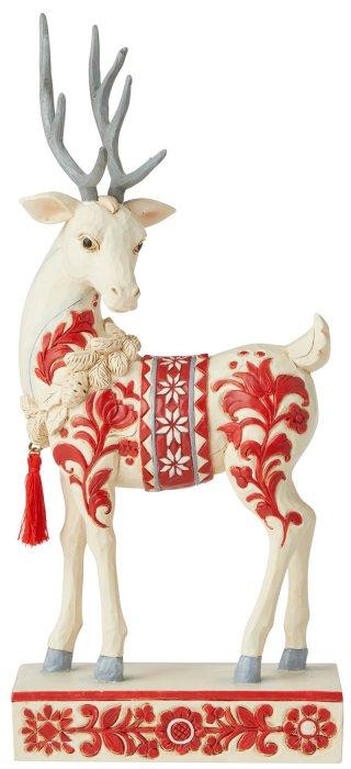 Jim Shore 6006621 Nordic Noel Reindeer Figurine