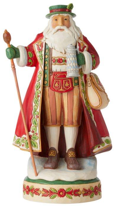 Jim Shore 6006640 German Santa Figurine