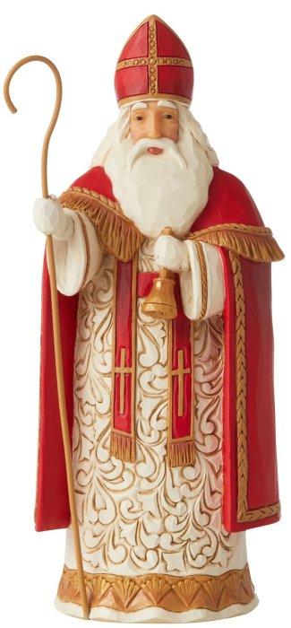 Jim Shore 6006641 Belgian Santa Figurine