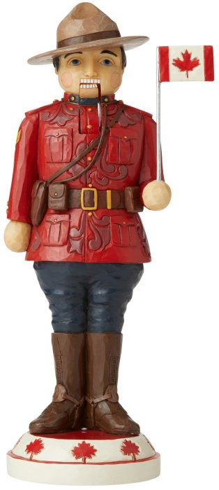 Jim Shore 6006643 Canadian Mountie Figurine