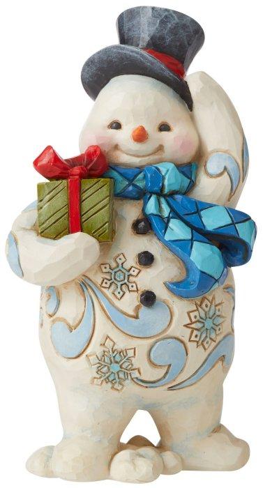Jim Shore 6006654 Standing Snowman Figurine
