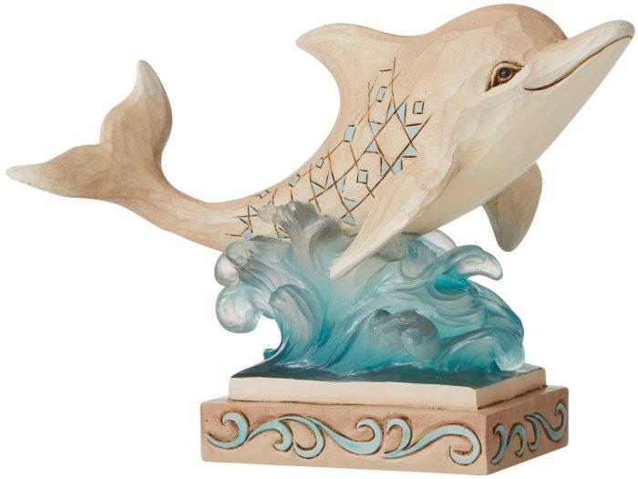 Jim Shore 6006690 Coastal Dolphin Figurine