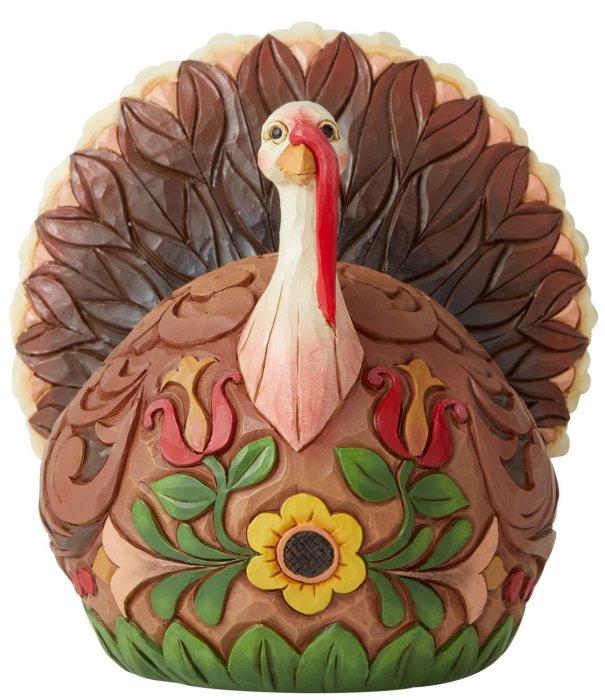 Jim Shore 6006696 Turkey Figurine