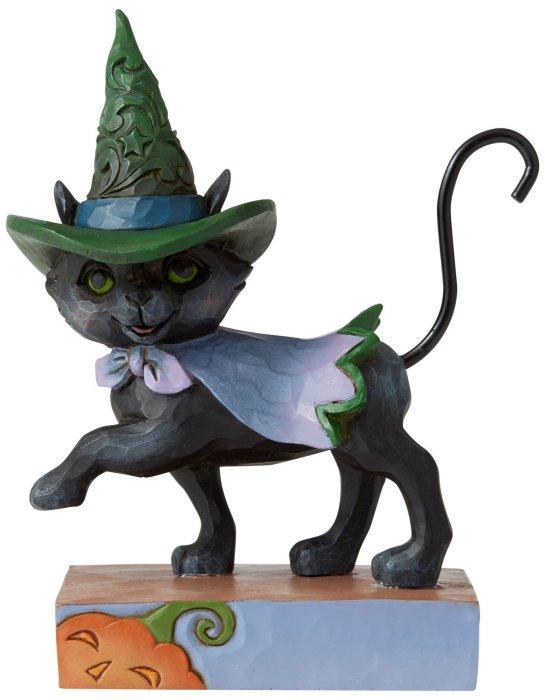 Jim Shore 6006705 Walking Black Cat Figurine