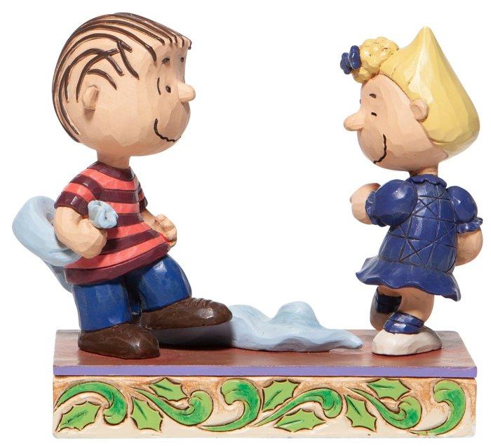 Jim Shore Peanuts 6006935 Linus and Sally Dancing Figurine