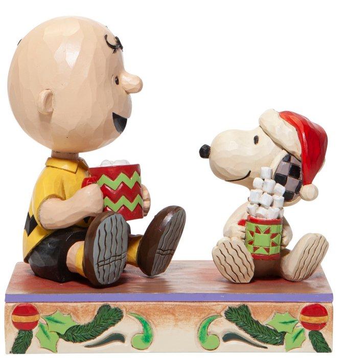 Jim Shore Peanuts 6006937N Charlie Brown and Snoopy Figurine