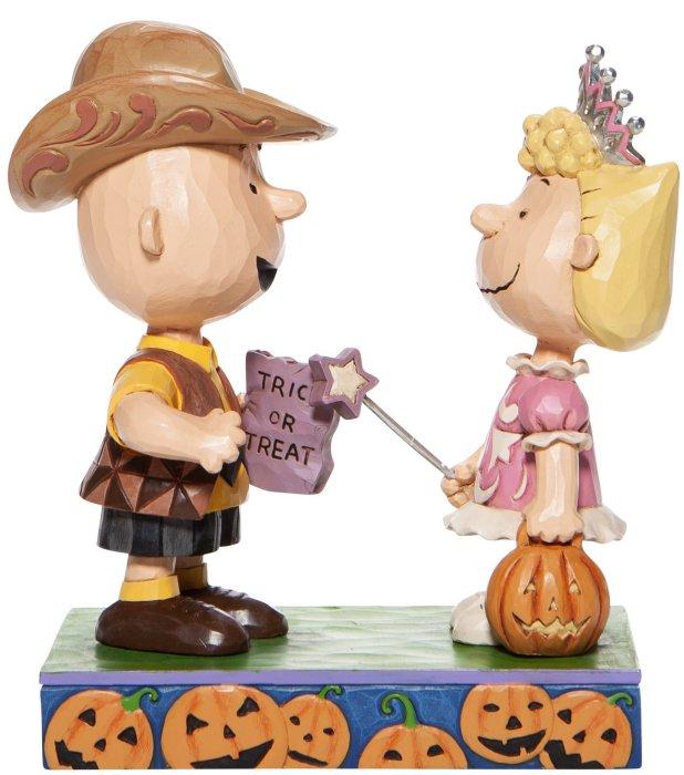 Jim Shore Peanuts 6006944 Charlie Brown and Sally Figurine
