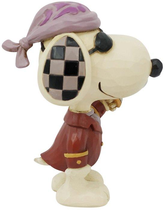 Jim Shore Peanuts 6006945N Mini Snoopy Pirate Figurine