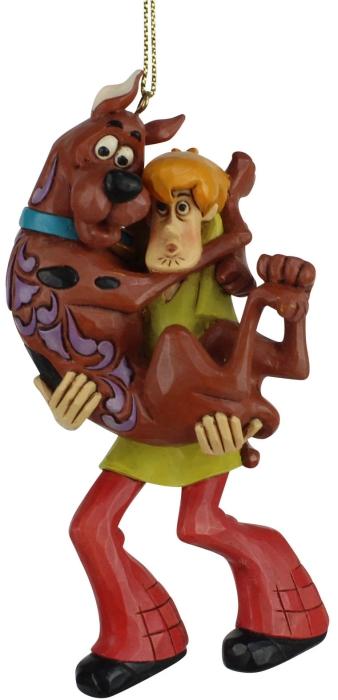 Jim Shore Scooby Doo 6007255 Shaggy Holding Scooby Ornament