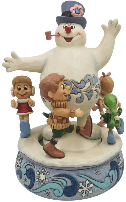 Jim Shore Frosty 6007341N Frosty with Children Figurine