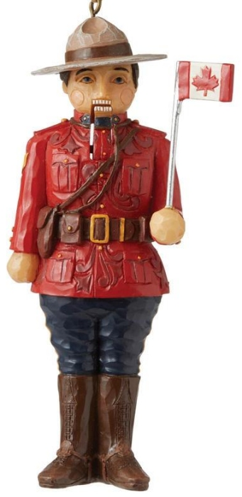 Jim Shore 6007879N Canadian Nutcracker Ornament