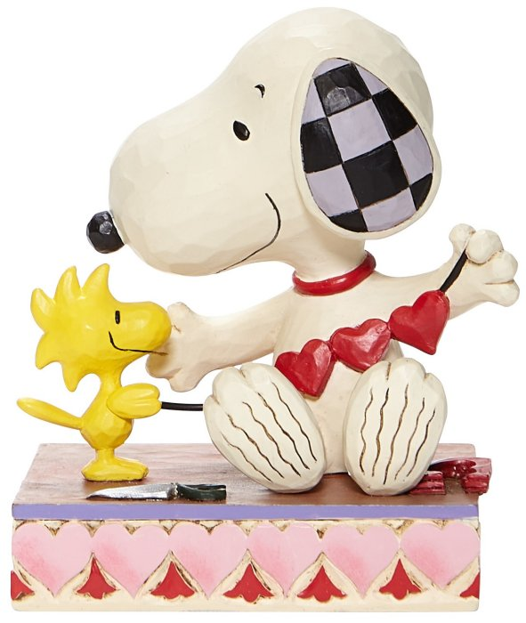 Jim Shore Peanuts 6007937 Snoopy with Hearts Figurine