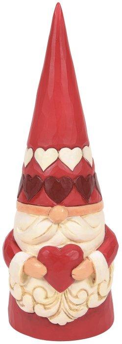 Jim Shore 6008401 Red Heart Gnome Figurine